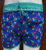Scheda Shorts Floral Print Surf Short Swimwear Beachwear per Women