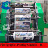 4 Color Flexo Impresora de película plástica (norma CE)