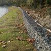Предохранение от 2*1*1m реки гальванизировало шестиугольную сетку Gabion