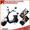 Fett 1000W ermüdet Harley elektrische Roller-Stadt-Coco-elektrische Roller