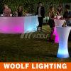 장식적인 놀 클럽 바 LED 높은 테이블