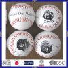 Горячим самое лучшее цены по прейскуранту завода-изготовителя логоса конструкции OEM PVC надувательства кожаный выдвиженческим дешевым подгонянное ценой продавая изготовления шарика бейсбола