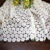 Cordón químico del bordado del algodón para la ropa y la ropa