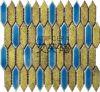 Mosaico colorido Mlp016&017 23X48 del mosaico de la porcelana de Fambe