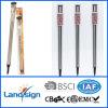 Lampade solari della colonna di ormeggio dell'acciaio inossidabile per la parte esterna