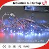 Secuencia ligera expuesta color blanco al aire libre ahorro de energía del LED