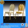 Используемый оптовой продажей алюминиевый стул банкета с белой тканью для проката