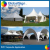 PVC Coated Tent Tarpaulin di 680GSM Waterproof