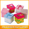 Empaquetado de empaquetado de regalo de la fruta de la cartulina de papel del rectángulo para Apple (BLF-GB484)