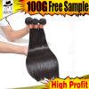 Продукты человеческих волос волны ранга 9A бразильские прямые