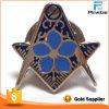 2016년 중국 제품 주문 Masonic 접어젖힌 옷깃 Pin