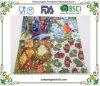 il colore decorativo dei tovaglioli di carta del partito di pollice di 2ply 10X10 ha stampato Tela-Come il tovagliolo di pranzo stampato approfondito di colore