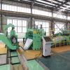 Bande en aluminium de bobine déroulant fendant la machine de rebobinage