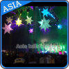 Aufblasbare Stern-Ereignis-Dekoration/dekoratives Stadiums-aufblasbares Licht