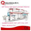 Máquina que lamina seca de la Solvente-Base de la serie de Qdf para el papel