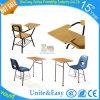 Mesa e cadeira de madeira de aço modernas dos estudantes da escola da venda quente