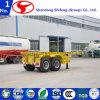 Remorque squelettique de conteneur de 2 essieux de Chine