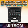 Tela de Toque do Windows Witson aluguer de DVD para Chevrolet Cruze 2015