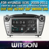 Hyundai IX35 (W2-D8255Y)에서 Witson Special Car DVD Player GPS