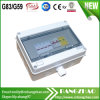 Франтовская коробка Combiner PV для 2 солнечных входных сигналов с снабжением жилищем поликарбоната IP65