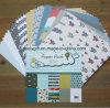 DIY Scrapbooking 6X6 Paquete de papel con diseño hecho a mano de papel del libro de recuerdos de dibujos animados