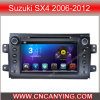 鈴木Sx4 (AD-8081)のためのA9 CPUを搭載するPure Android 4.4 Car DVD Playerのための車DVD Player Capacitive Touch Screen GPS Bluetooth