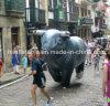 Joli modèle pour la promotion de taureau gonflable gonflable géant Bull