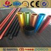 L'aluminium 6061 T6 anodisé d'or profile le tube d'extrusion