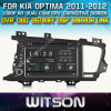 Witson voor GPS 1080P DSP Capactive Screen WiFi 3G Front DVR Camera van KIA Optima Car DVD