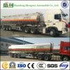 45000 liter 3 de Aanhangwagen van Simi van de Tanker van de Tank van de Benzine van de Stookolie van de Legering van het Aluminium van de As