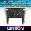 Reprodutor de DVD do carro de Witson para Toyoya Camry 2012-2015 com sustentação do Internet DVR da ROM WiFi 3G do chipset 1080P 8g