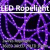 2 Wires 13mm Round DEL Flexible Rope Light Indoor/ce RoHS 230V d'Outdoor Decorative Chistmas DEL Color Lighting