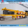 2 Radachse 40ft Container Lock Skeleton Semi Trailer