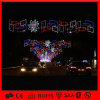 LED 2D Christmas Across Street Decoration Motif Light