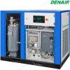 Compresor de aire silencioso conducido eléctrico del tornillo de la velocidad variable inmóvil VSD