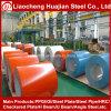 El color acanalado del material de material para techos PPGI cubrió la bobina de acero