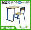 Escritorio y silla baratos (SF-28S) del estudiante de los muebles de escuela solos