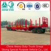 低価格の材木のトレーラーの記録の輸送のトレーラーの木製の輸送の半トレーラー