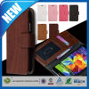 C&T Wood Grain Wallet Flip Case for Samsung Galaxy Note 4