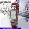 Wristwatch повелительниц кварца горячего сбывания фабрики стальной (Wy-020C)