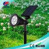 Ângulo ajustável Jardim Solar Luz LED 4