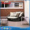 매력적인 디자인 왕 정원 안뜰 가구 등나무 침대 겸용 소파