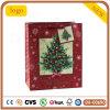 Bolsa de papel, bolsa de papel del árbol de navidad, bolsa de papel del regalo