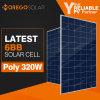 Zonnepaneel van het Product van 10 Zonnecellen van de Vervaardiging van China het Hoogste 6bb 300W 320W