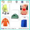 Tela uniforme anaranjada de neón 100% del chaleco del poliester 500d para el uso del barco