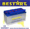 60038 12V 100ah secan la batería del automóvil del coche