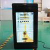 27 polegadas LCD transparente usada Frigorífico Porta Comercial