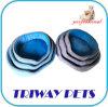Tecido impresso e espuma Mini-Plush Cão Gato camas (WY1711068A/C)
