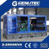 gerador 135kVA Diesel silencioso (Cummins 6BTAA5.9-G2, Stamford UCI274E)