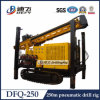 Plataforma de perfuração Dfq-250 Rock Blasting com DTH Bit e Martelo para venda